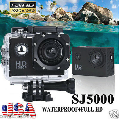 Pro 1080P SJ5000 HD Waterproof DV Sports Recorder Action Camera Camcorder DV Cam