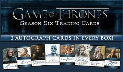 Game of Thrones Season 6 Six Trading Card Box + Promo