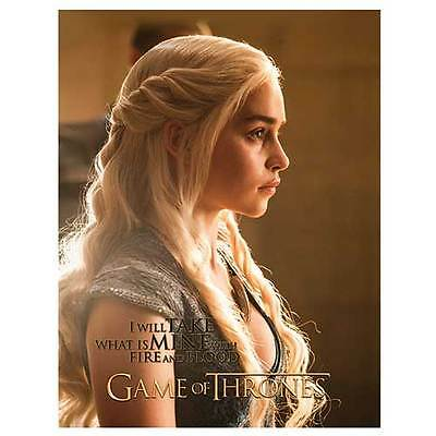 GOT Licensed Game of Thrones Image Picture Framed Canvas Man Cave Christmas Gift