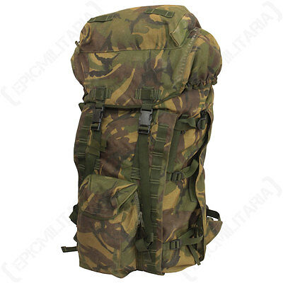 Original British Long Back Bergen - Military Army Surplus Rucksack Backpack Bag