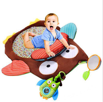 Baby Play Mat Owl Carpet Crawling Blanket New Born Game Toy Gift