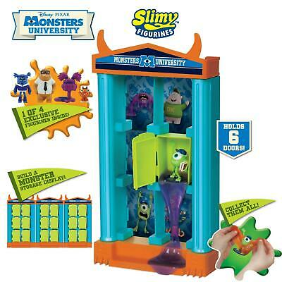 Monsters University Slimy Figurines Storage Unit Frat House 239078 - New