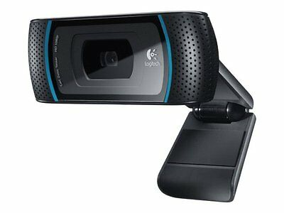 Logitech B910 HD Webcam for Business USB 2.0 720P 5MP 1920x1080 960-000684 - New