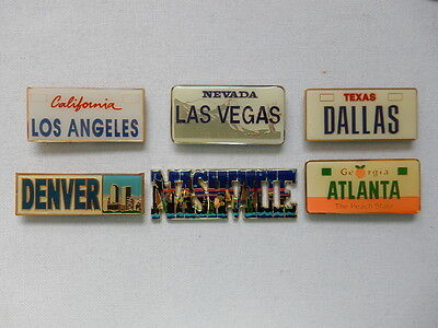 One Selected Metal Souvenir Fridge Magnet from the USA