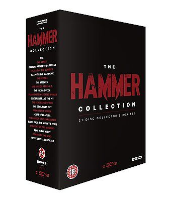 The Hammer Collection (21 Disc Box Set) - NEW DVD
