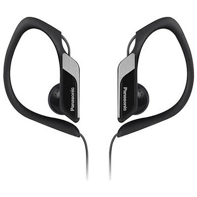 Brand New Genuine Panasonic Water/sweat Resitant In Ear Sports Headphones- Black