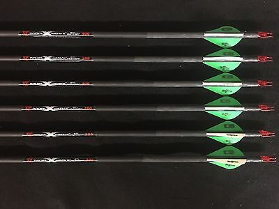 PSE Carbon Force STL Hunter Radial X-Weave 300 8.6gpi 1/2 Dozen (6 Arrows) NEW