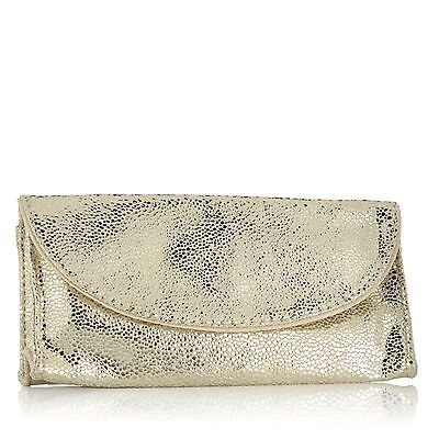 Mally Gold Speckled makeup bag