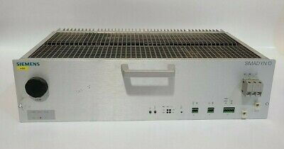 Siemens SP9.18 A - 8659-3 SIMADYN D 24V 24A Power Supply Module PLC 6DD1683-0BE0