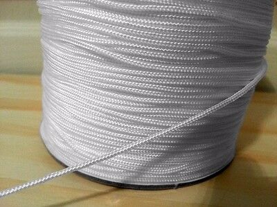 1MM and 2MM ROMAN AUSTRIAN BLIND CORD WHITE STRING PULL CURTAIN FESTOON STRONG