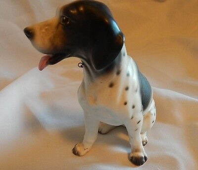 Ceramic German Short Hair Pointer Figurine