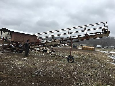 "Stacking Conveyor. 40' X 18"" Mining, Gold, Sand, Gravel, Stone, Topsoil, Mulch"