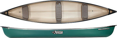 Pelican 15'5 Canoe - 3 Seat Canadian Open Canoes - Nationwide Collection