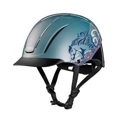 Troxel New 2017 Spirit Sky Dreamscape Safety Riding Helmet Low Profile Horse