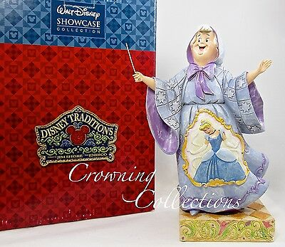 Jim Shore Magical Transformation The Fairy Godmother Disney Cinderella Figurine