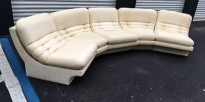 Amazing Vladimir Kagan Five Piece Sectional Sofa