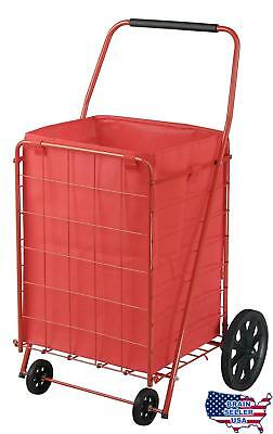 Sandusky FSC4021 Folding Shopping Cart, 110 lbs Capacity, New, Free Ship