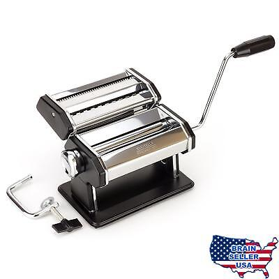 Premium Pasta Maker - Now Easily Make Delicious Spaghetti & Fettucine from Scrat