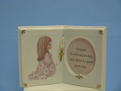 Precious Moments  Confirmation Girl Book Photo Frame