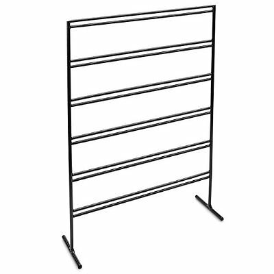 Beadaholique Earring Card Display Stand in Black Wire, 13.75-Inch, No Tax, Free