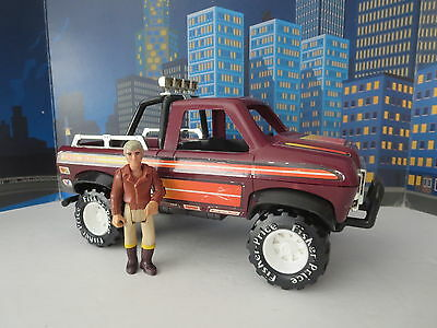 Vintage Fisher Price Adventure People #370 Trail Boss Gmc 4X4 Pick Up & Driver