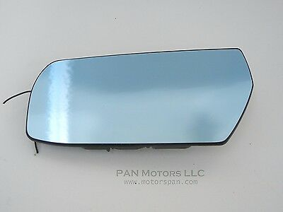 NEW Mirror Glass ADHESIVE 03-07 CADILLAC CTS Driver Left Side NON BLUE TINT