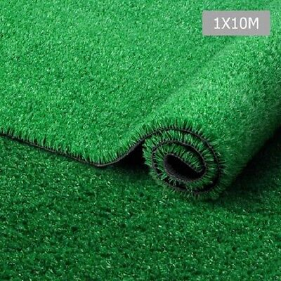 NEW 10 SQM Synthetic Artificial Grass Garden Patio Lawn Turf Flooring 15mm Green