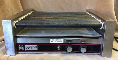 APW WYOTT Concession Hot Dog Warmer Roller Grill 30 Dog Capacity HRS-30 HRS30