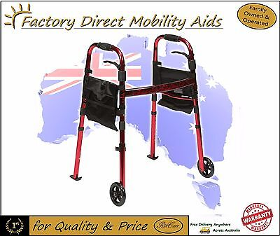 Drive Ready Set Go Side Folding Walking Frame Folds Comes with a bag