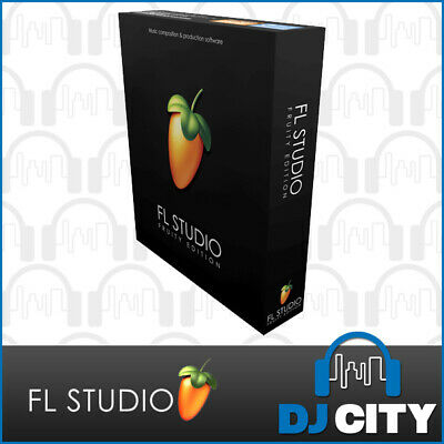 FL Studio 12 Fruity Music Production Software Retail Box - Genuine Dealer