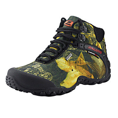 Mens Hiking Trekking Climbing Shoes Non slip Athletic Trail Mountain Shoes Sport