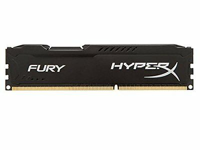 HyperX Fury Black Series Memorie RAM, 8 GB, 1333 MHz, DDR3, Nero
