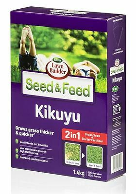 Scotts Lawn Builder 1.4kg Seed & Feed Kikuyu - Free Delivery