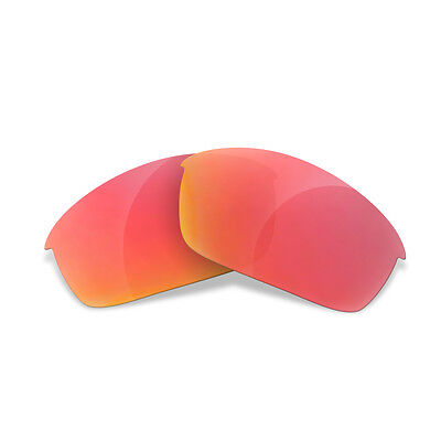 Sure Polarized Red Replacement Lenses for Oakley Flak Jacket