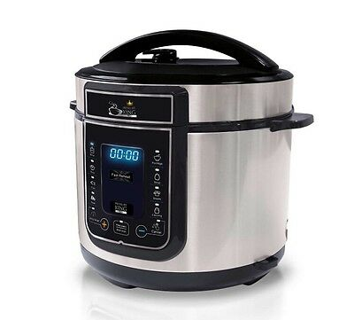 Pressure King Pro 12 in 1 Digital Electric Pressure Cooker Complete Pack