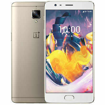 Oneplus 3T Smartphone Android 6.0 Snapdragon 821 Quad Core Touch ID 6GB64GB Gold