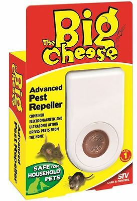 The Big Cheese 1.2W Advanced Electronic Pest Repeller