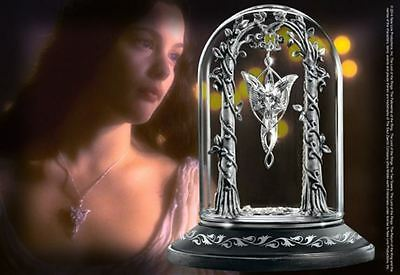 Lord of the Rings Arwen Evenstar Pendant Display by The Noble Collection