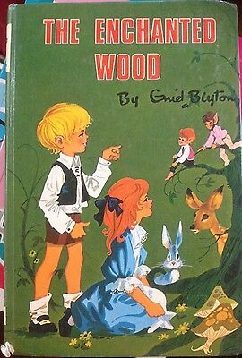 The Enchanted Wood Enid Blyton Hardcover Vintage Book
