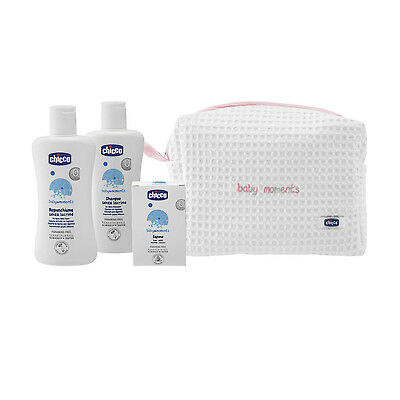 CHICCO BAGNETTO Baby Moments set zip Rosa