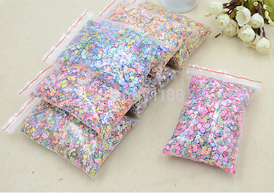 Hot 1000x Nail Art Mix Design Fimo Slices Polymer Clay Stickers Decoration UK