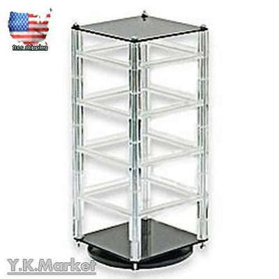 Earring Revolving Display Stand Jewelry Card Rotating Can Contain 100 Cards