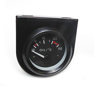 BF 52mm Oil Temp gauge White bk-light Land Rover 4x4 Off Road