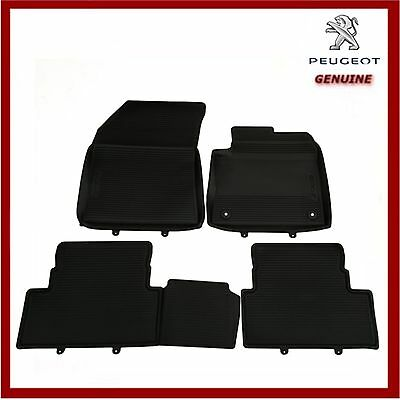 Genuine Peugeot 3008 SUV 2017 Onwards Tailored Rubber Mats Front & Rear