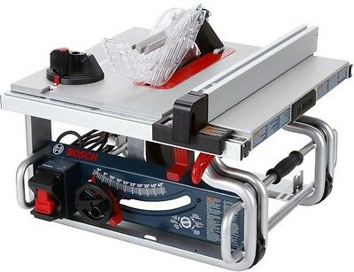 Bosch 15 Amp Corded Electric 10 in Worksite Portable Bench Table Saw GTS1031 New