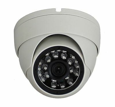 960P HD IP Security Network Camera Waterproof Outdoor IR Dome Onvif 1.3MP WHITE