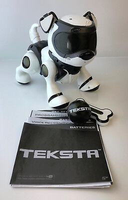 Refurbished 5th Generation Teksta Voice Recognition Puppy Electronic Pet Unboxed