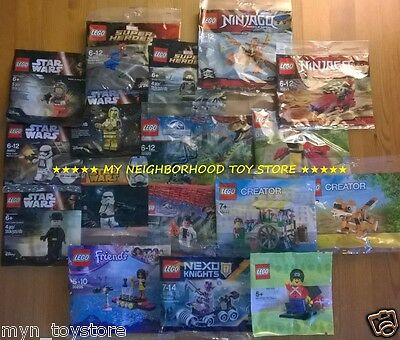 Lego Polybag - Creator Dc Comics & Marvel Jurassic World Nexo Ninjago Star Wars™