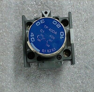 Used  ABB  TP 40DA Contactor Timer  0.1-40s - 60 day warranty