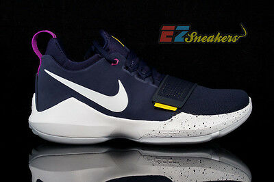 Nike Paul George Pg 1 The Bait Obsidian White Gold 878627-417 New Size 10 6e3d057897